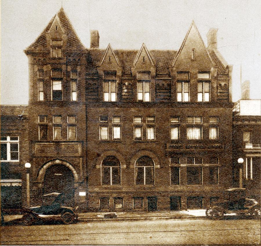 Mansfield YMCA in 1927