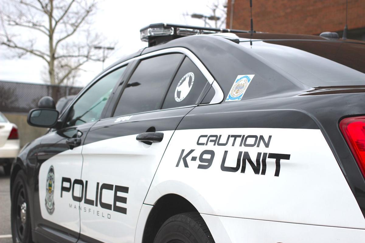 Mansfield Police squad car