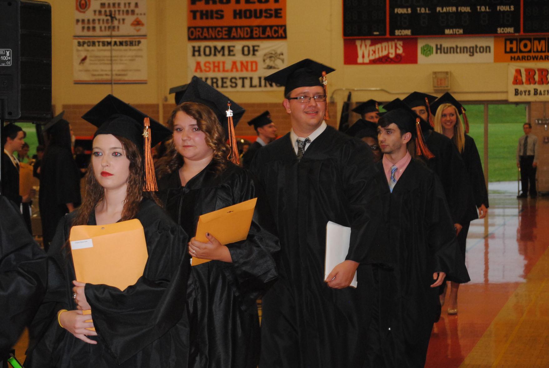 Ashland High School Graduation 2016