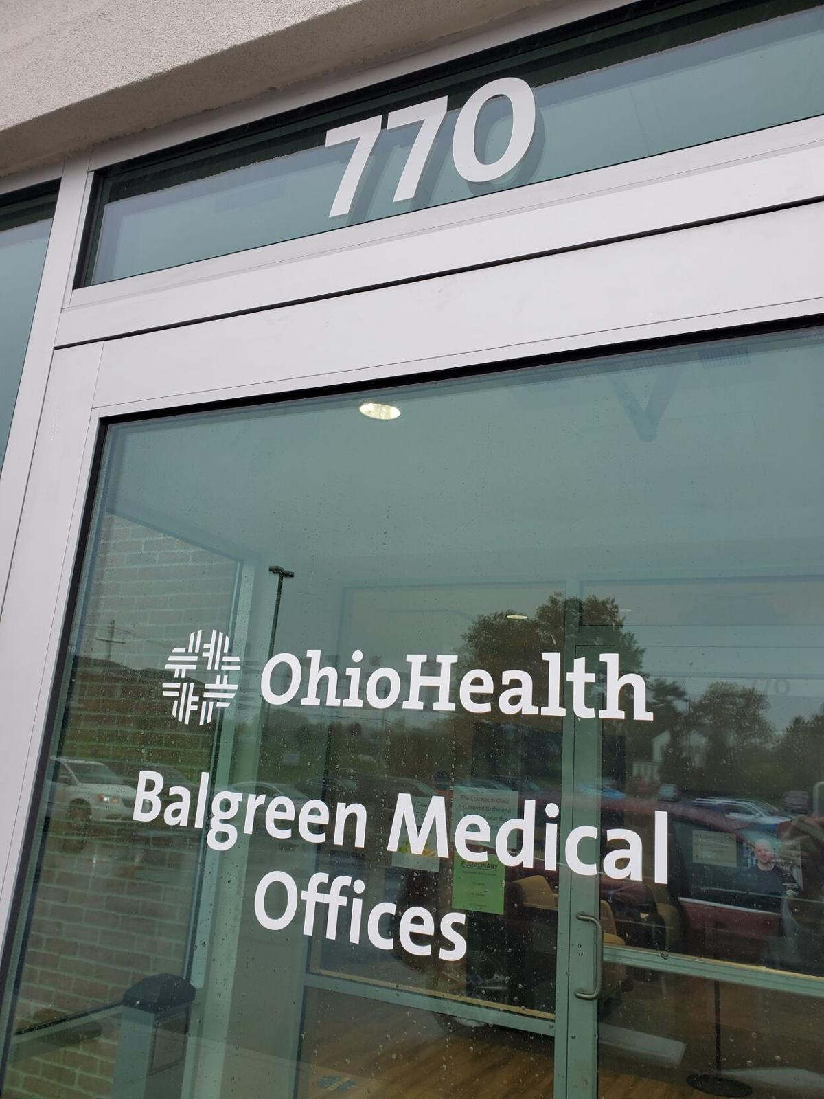 Front door to Balgreen Medical Offices