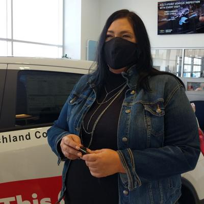 DV Shelter employee wins free car from Graham Chevrolet