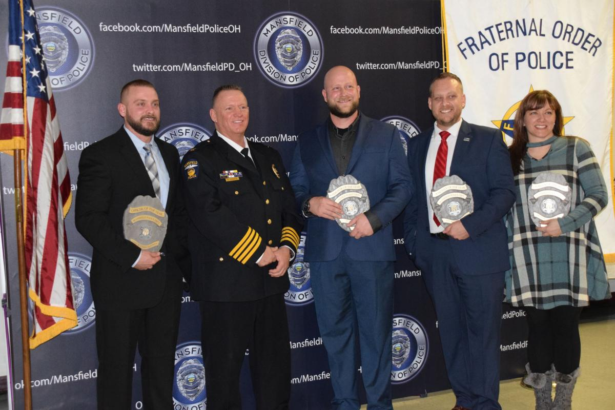 Mansfield Police Department honors officers | News