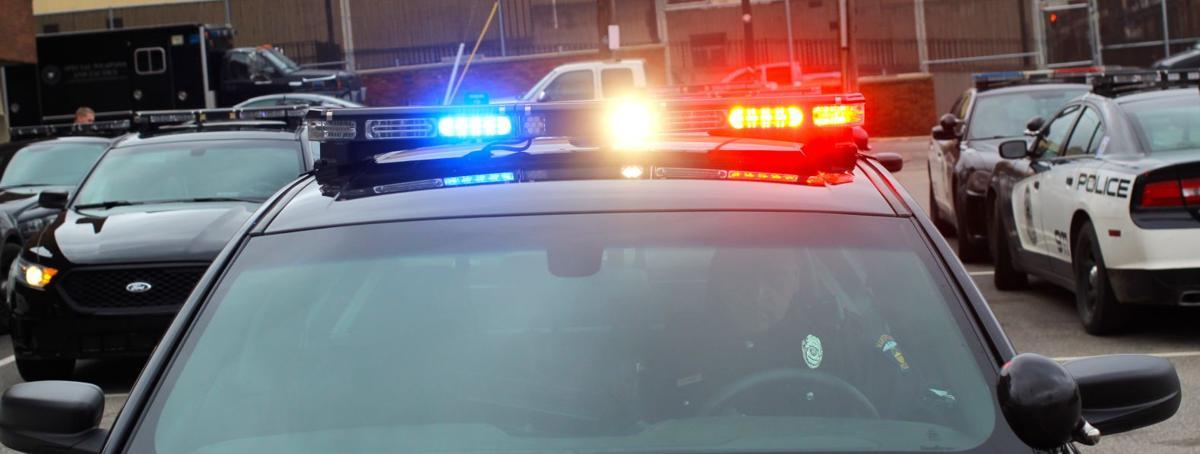Mansfield Police Cruiser