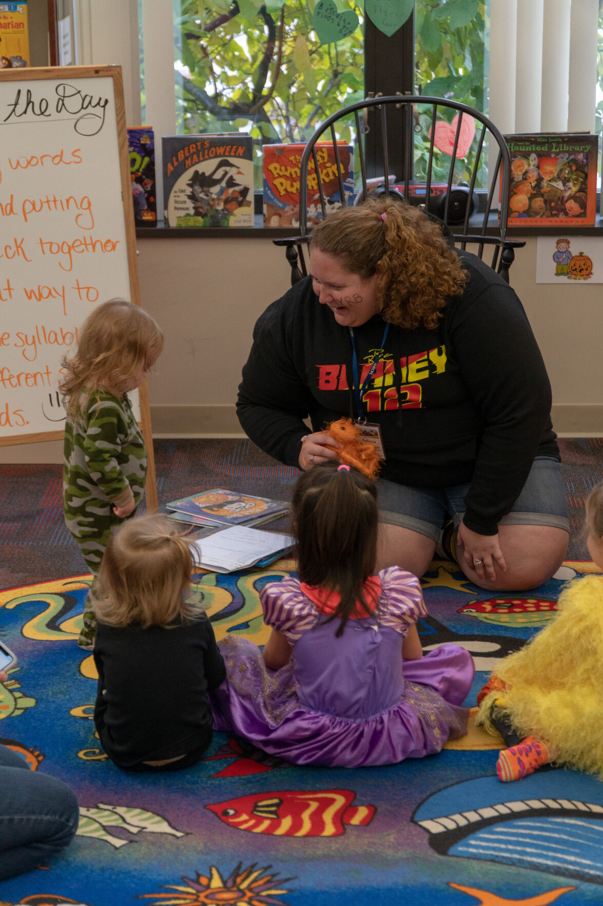 Adena Siefert hosting a story time program in 2019.jpg