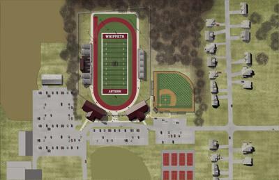 New Shelby Stadium Site Plan
