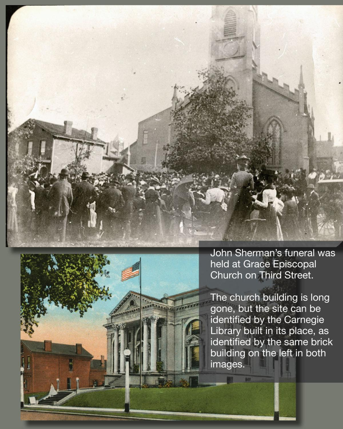 19th century home funeral before the turn of the century - The Sherman Funeral 1900 A Favorite Son Comes Home Area History Richlandsource Com