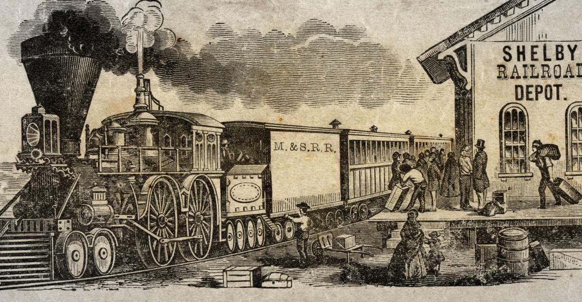 Underground Railroad 1854 Unscheduled Cargo In Shelby