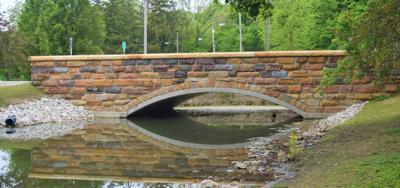 North Lake Park bridge