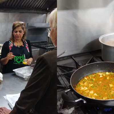 Former Saffron owners lead cooking classes at Entrepreneurs' Kitchen, could hold more