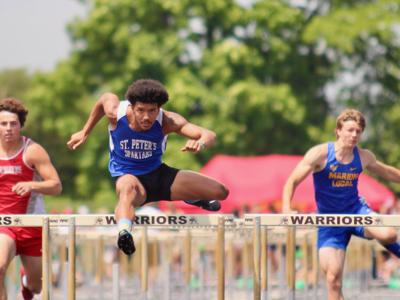 St. Peter's Duncan, Crestview's Kuhn strike gold at Division III state track meet