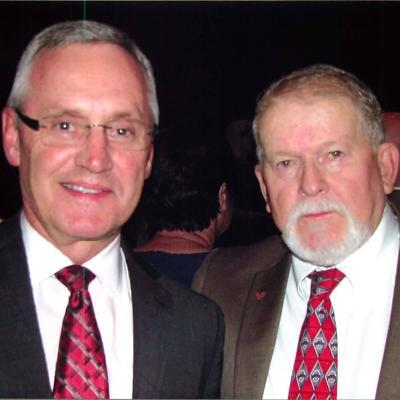Jim Tressel and Doug Castle