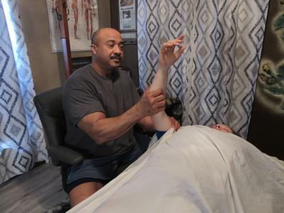 Massage therapist relieves locals' pain for 23 years
