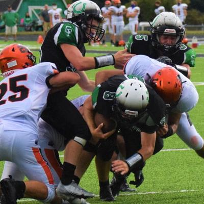 Lucas claims first-ever football win against Clear Fork, 18-15
