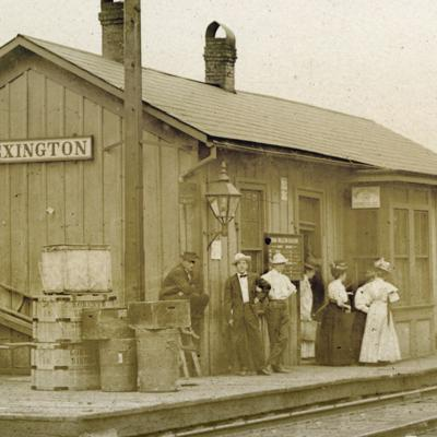 Then & Now: The B&O depot(s) in Lexington