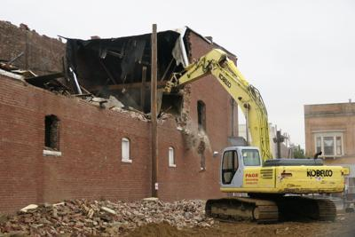 Century-old buildings being demolished in downtown Ashland