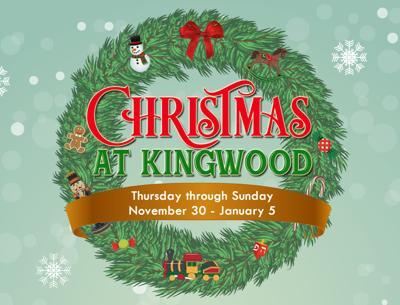 Christmas at Kingwood 2019 logo