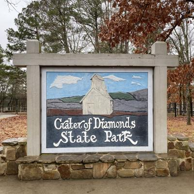 Free diamonds and 40 hours of driving -- highpointing Missouri, Arkansas & Louisiana