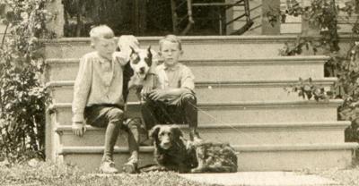 Lewis Brumfield in 1906