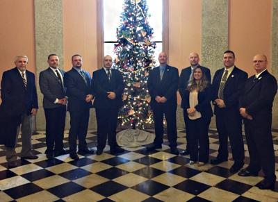 Fugitive Task Force recognized at Ohio Statehouse for surpassing