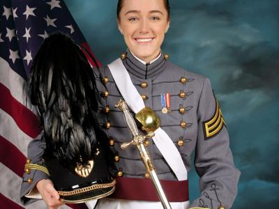 Mansfield Sr. grad turns the tassel at West Point on May 22