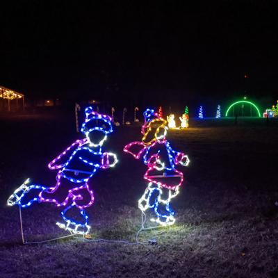 It's not too late to see the Marshall Park light display in Ontario