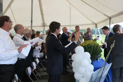 Gallery: COMTEX Ashland ground blessing ceremony