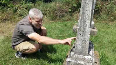 The grave-whisperer: Lucas native breathes new life into old cemeteries