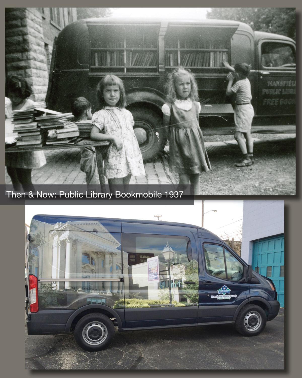 The Bookmobile 1930s
