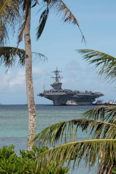 Lexington sailor aboard U.S. aircraft carrier hit by COVID-19