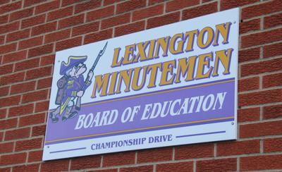 Lexington Board of Education sign