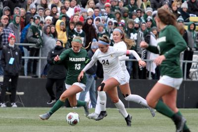 Huff in state title match