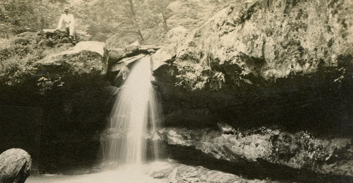 Fleming Falls 100 years ago