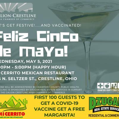 Get a vaccine -- and a free margarita -- in Crestline