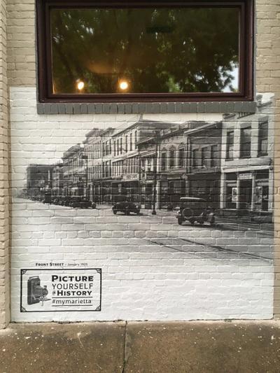Historical art of Marietta, Ohio