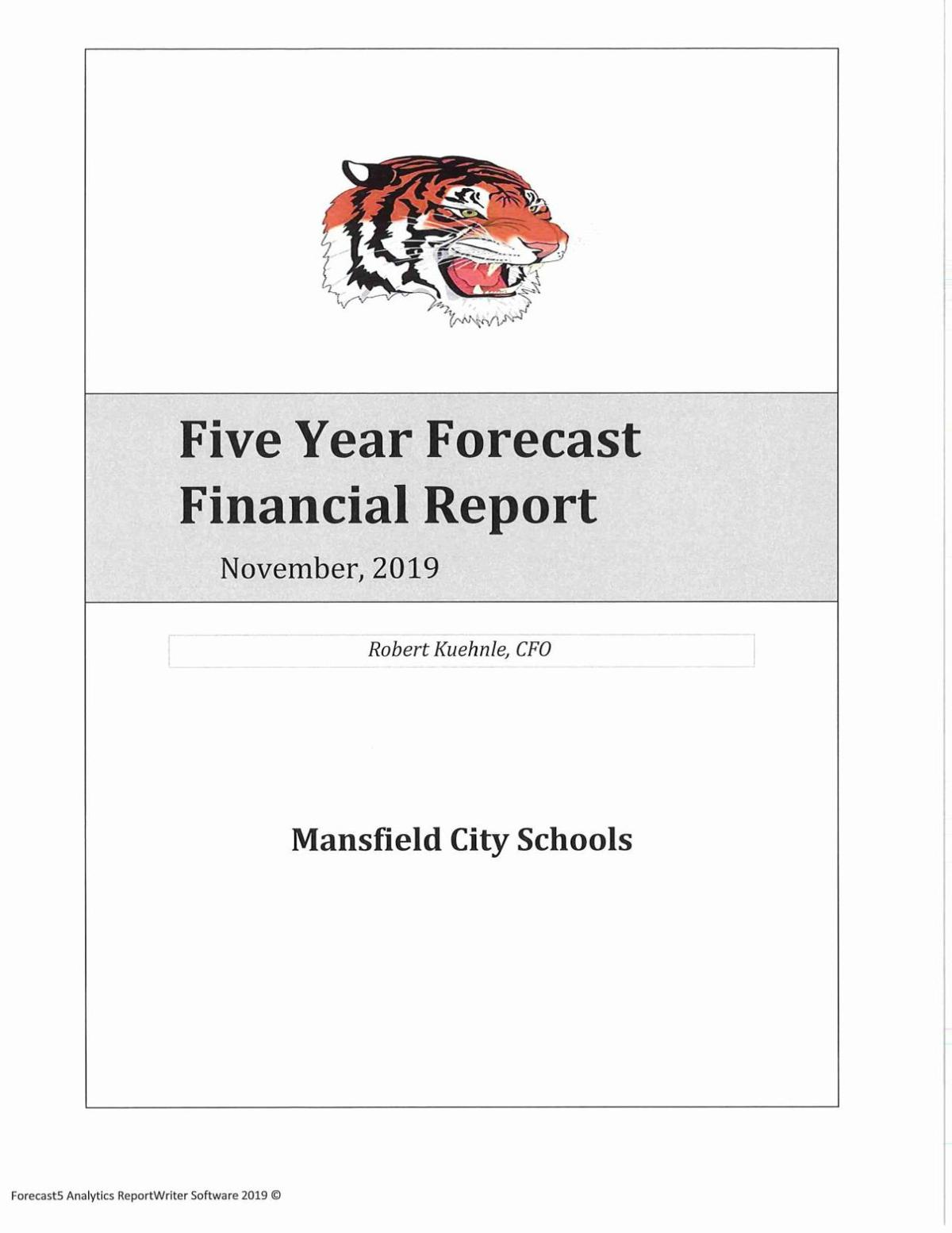 Five year forecast