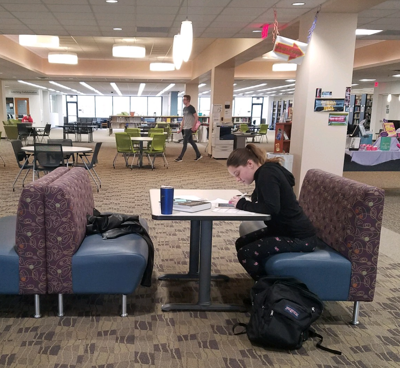 OSU Mansfield students press on despite stress of midterms