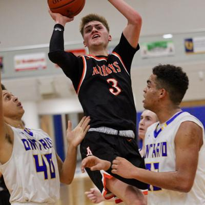 Ashland pulls away late to stop Ontario