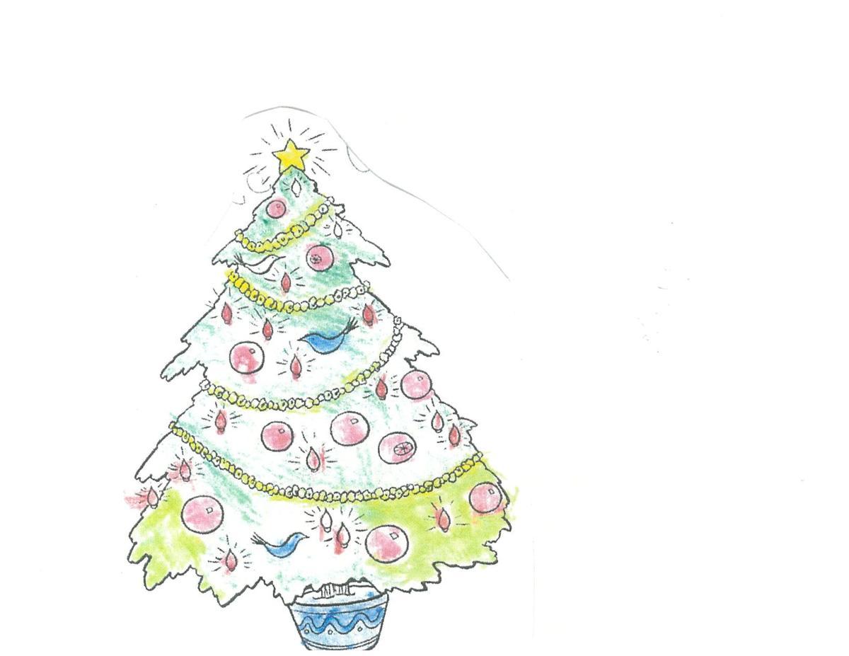Natalee Catlett Kindergarten coloring contest