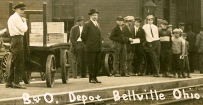 Then & Now: Bellville Depot