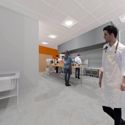 Idea Works Entrepreneurs' Kitchen raising funds for a blast freezer to reduce food waste