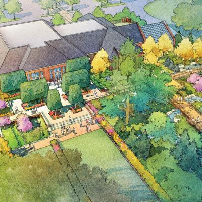 Oct 19 is grand opening for Kingwood's Garden Gateway visitor center