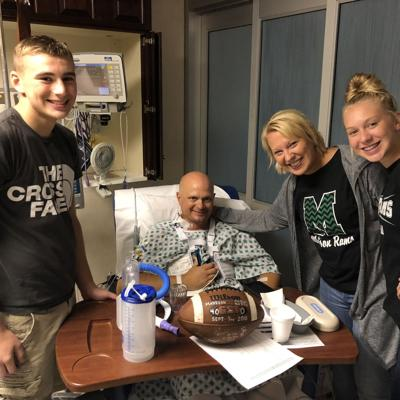 Mansfield man thankful for his community after life-threatening heart procedure