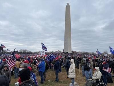 Why a former Amish man & Ashland resident traveled to Washington D.C. this week