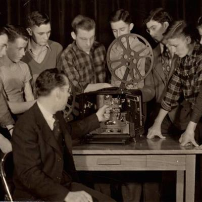 Students operated Loudonville's early cable channel