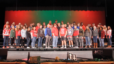 Choral Countdown to Christmas 2019: Shelby High School
