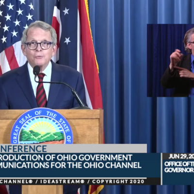 COVID-19: DeWine urges, but doesn't order, Ohio residents to wear masks