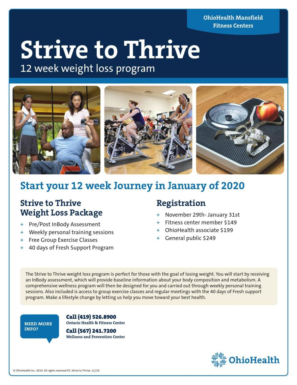 Strive to Thrive Special Offer