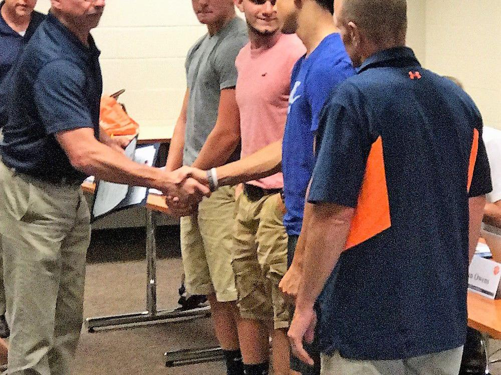 Seven Galion athletes honored by BOE