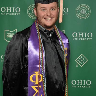 Ohio University  2021 Graduate: Chris Schafer