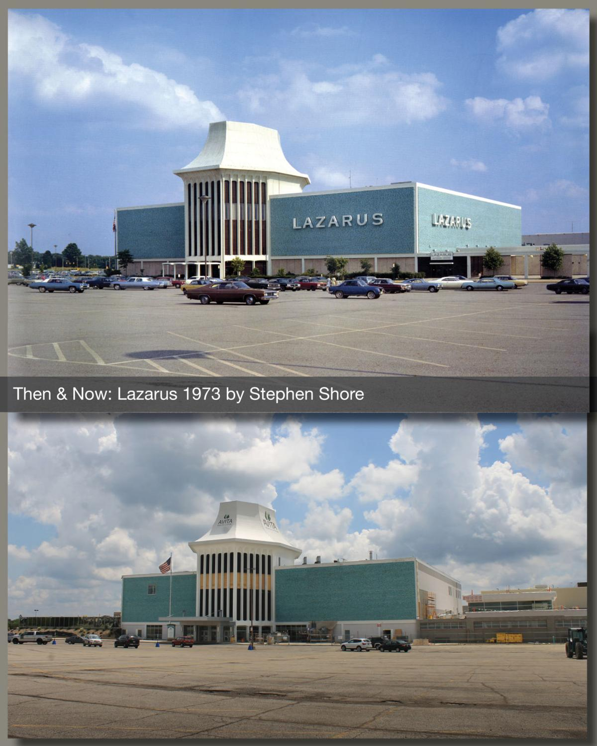 Then & Now: Lazarus at Richland Mall in 1973